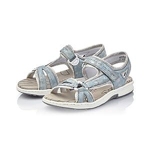Rieker Damen 67779 12 Geschlossene Sandalen