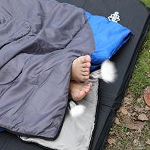 sleeping bag breathable