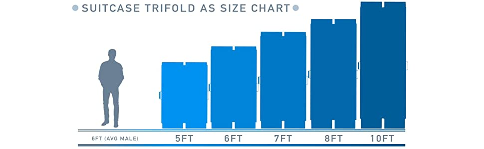 Aluminium Ramp Size Chart