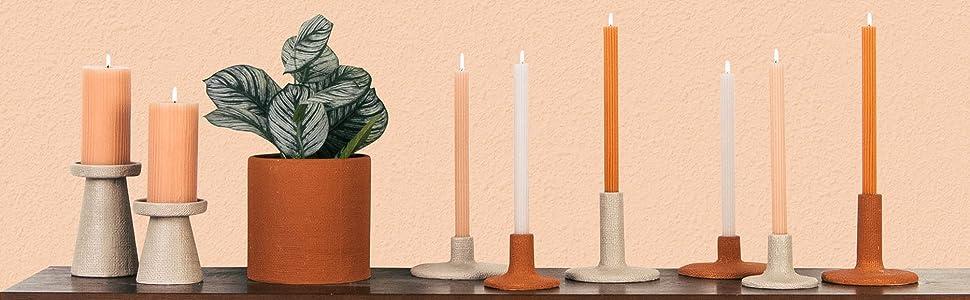 Main + Mesa Decorative Candles