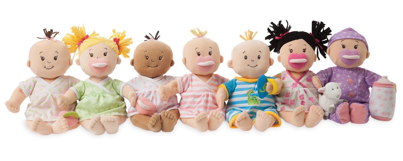 Amazon.com: Manhattan Toy Baby Stella Boy Soft Nurturing ...