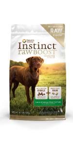 croquetas para perro, perro, alimento seco, instinct Raw Boost, Instinct