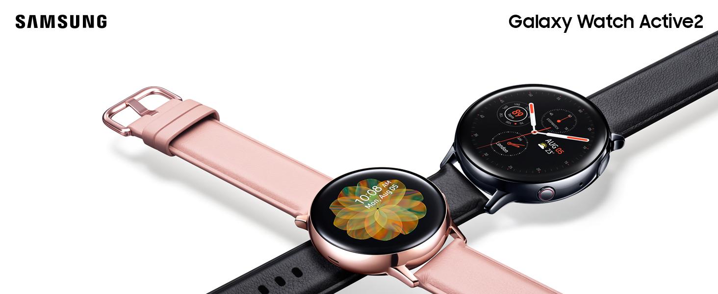 Samsung Galaxy Watch Active 2 - Smartwatch de Acero, 44 mm, LTE, Color Plata [Versión española]: Amazon.es: Electrónica