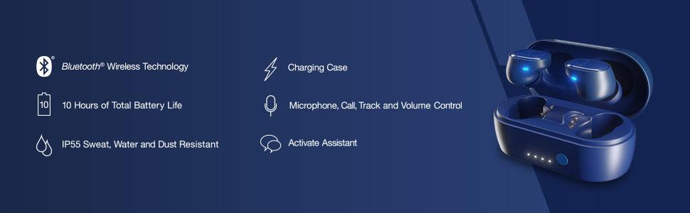Sesh True Wireless Earbuds Features