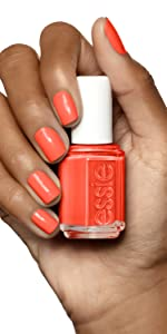 orange nail polish, orange nail varnish, orange nails