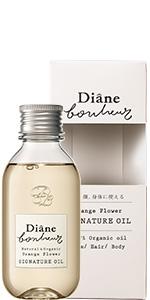 モイストダイアン ボヌール ヘア&ボディオイル オレンジフラワーの香り