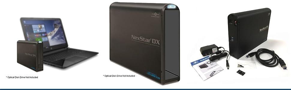 Amazon.com: Vantec NST-510S3-BK - Caja de disco óptico SATA ...