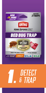 Ortho Home Defense MAX Bed Bug Trap 2-Traps
