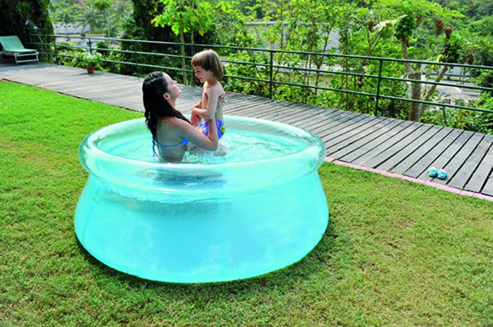 Jilong piscina autoportante trasparente cm