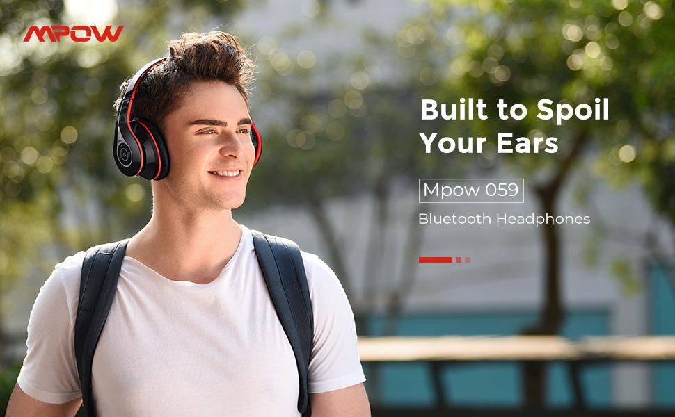 Mpow 059 Bluetooth wireless  Headphones-bestfor2021.com