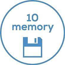 10 memory
