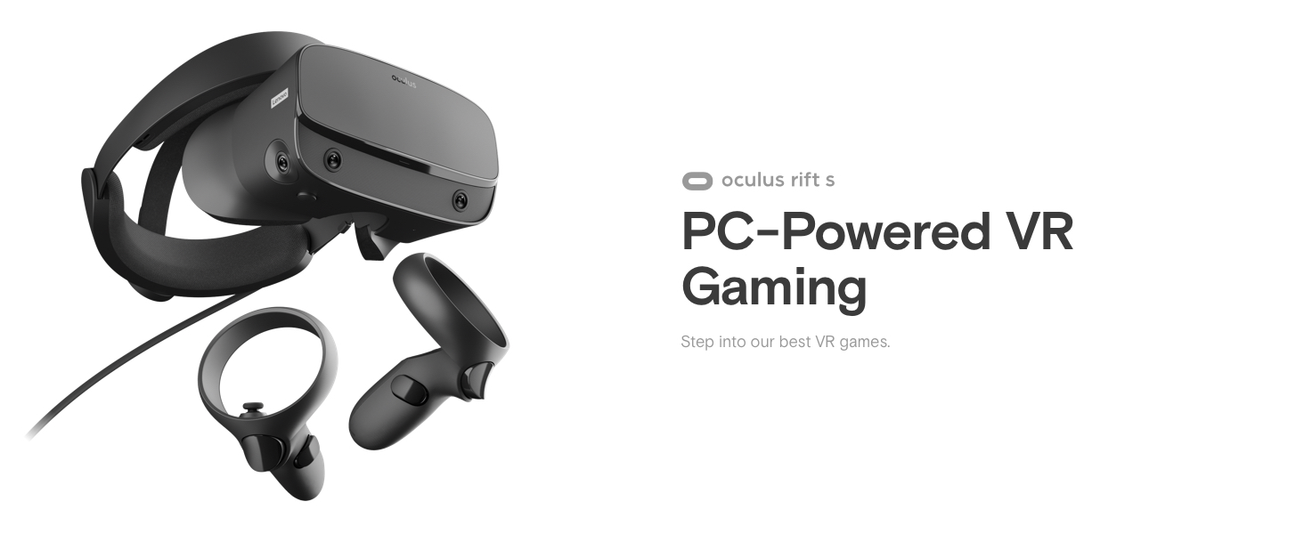 Oculus Rift S PC Powered VR Gaming
