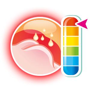 pH alterato