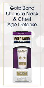 Gold Bond lotion for dark spots and sun damage.