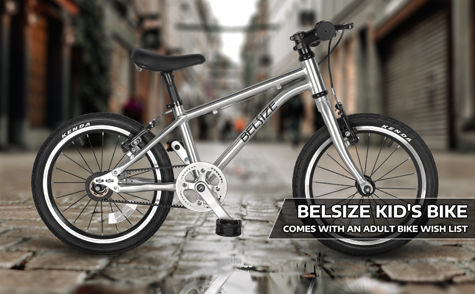 A11N BELSIZE 16 inch Luxury Belt Drive Kid's Bike