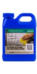 tile and stone countertop floor clean and reseal spray cleaner treatment
