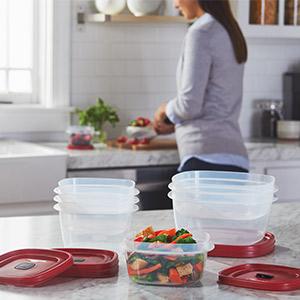 food storage meal prep