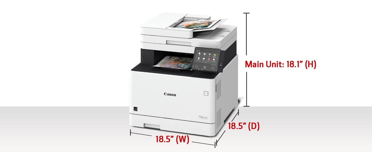mf733, mf733cdw, color laser, color printer, best printer, best laser, print scan fax