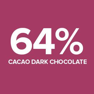 64% Cacao Dark Chocolate