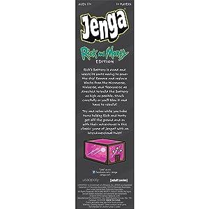 JENGA: Rick And Morty board game