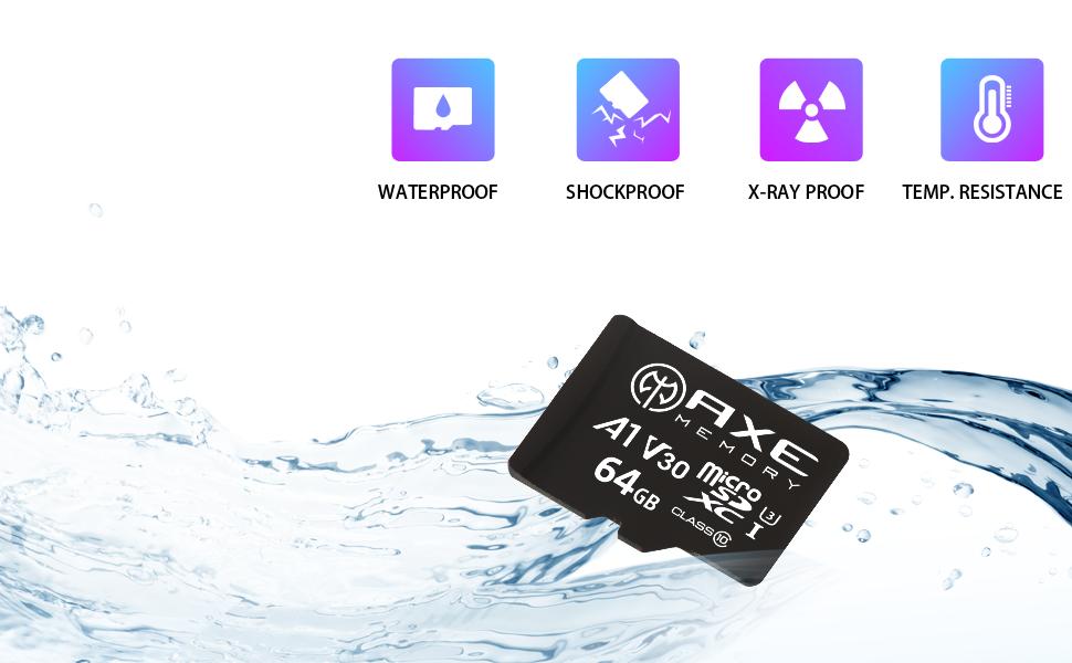 AXE MicroSDXC Nintendo Switch Memory Card SD