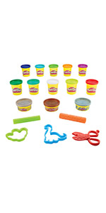 play doh dinosaur theme pack