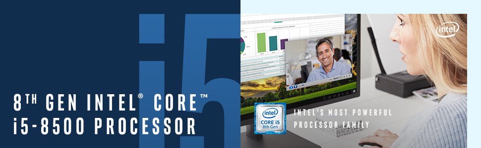 8th gen Intel Core i5-8500 processor