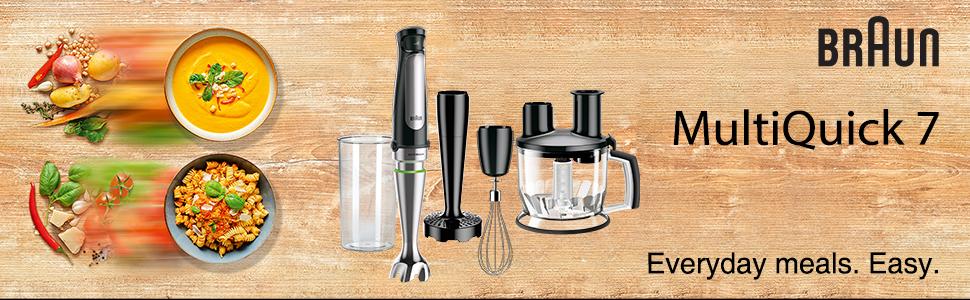Braun; MultiQuick 7; Hand Blender; Food Processor; MQ7077X