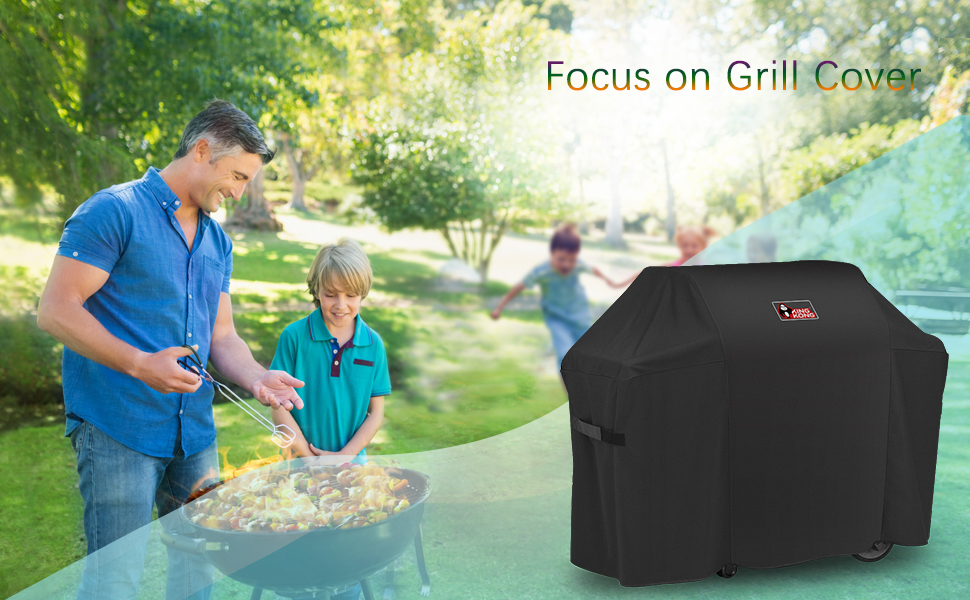 Spatula and Tongs Kingkong 7130 Cover Weber Genesis II 3 Burner 300 Series Grills Including Stainless Steel Meat Fork