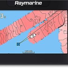 raymarine element sonda plotter gps hypervision realbathy