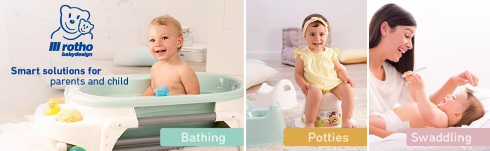 Rotho Babydesign Toddler Toilet Seat Pearlwhite Cream