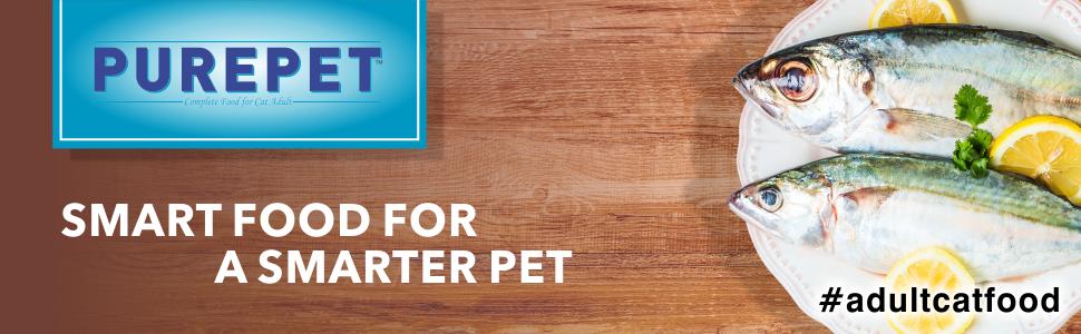 Purepet , Purepet cat , cat food , ocean fish , fish , Adult cat food