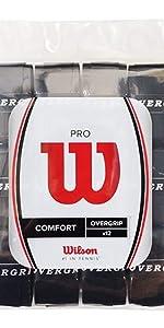 Wilson Pro Tennis Overgrip 12-Pack Wilson Tennis WRZ4016WH