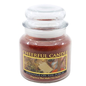 16oz Evenings On The Porch Jar Candle