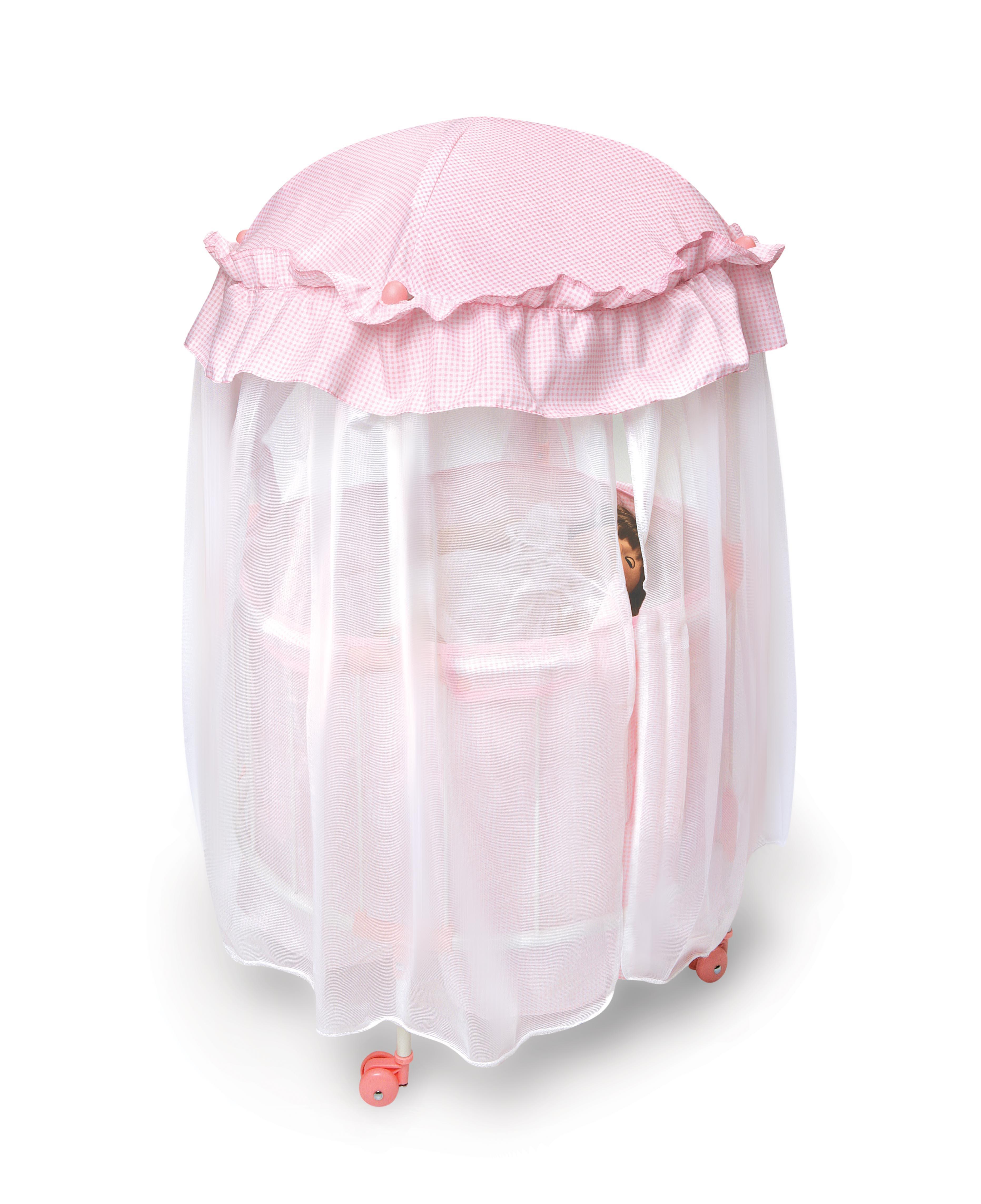 Royal pavilion doll crib