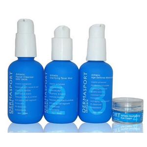 skincare beauty athletes sport lotion face facial exfoliate gentle sensitive natural