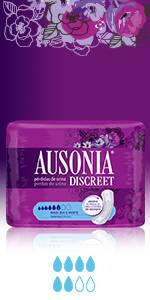 ... Compresas AUSONIA DISCREET Maxi ...