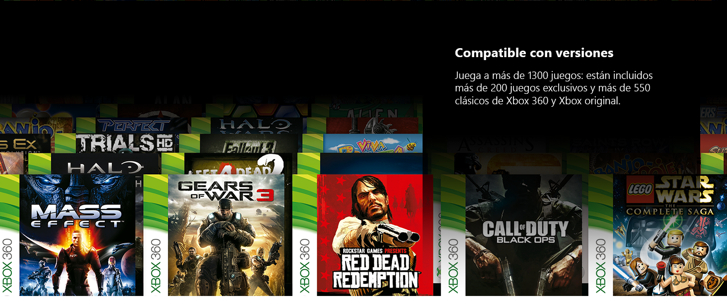 Microsoft Xbox One X - Consola 1 TB 4K HDR Negro: Microsoft ...