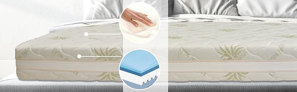 materasso plus top air memory