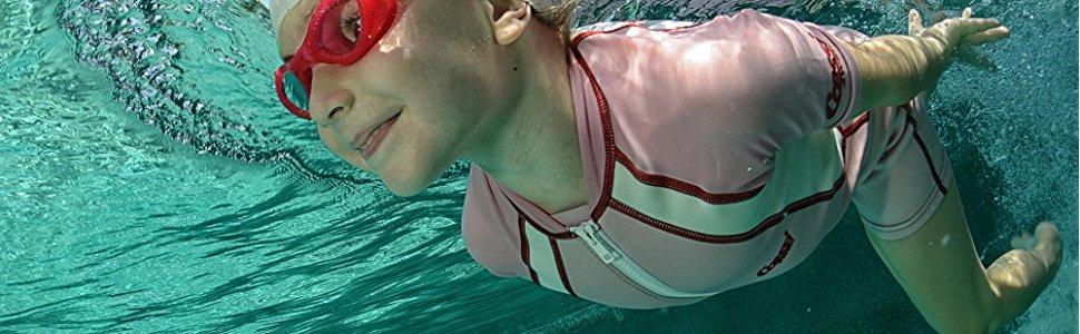 Cressi Sub S.p.A Orange//Blanc Reusable Swim Nappy Couche de nage Mixte Enfant XL-12//24 Mois
