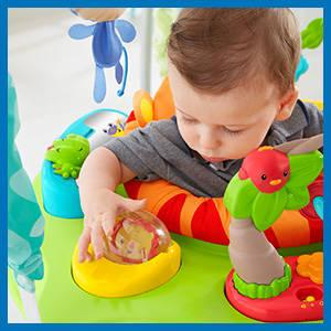 Fisher Price Jumperoo Jungle Sons Lumières
