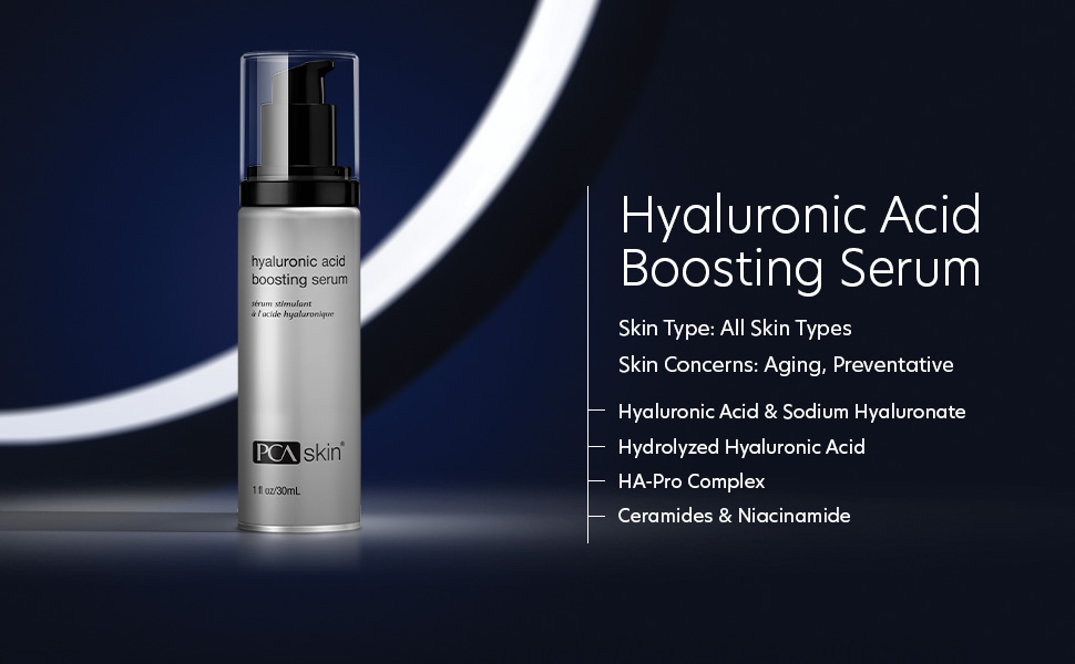 boosting, hyaluronic acid boosting serum, pca skin hyaluronic acid boosting serum, serums