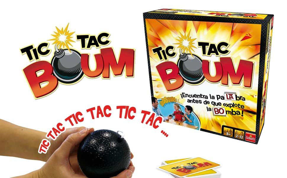 Goliath Tic Tac Boum, Juego de Cartas, Encuentra la palabra (70438) , color/modelo surtido: Amazon.es: Juguetes y juegos
