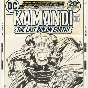 『カマンディ、地球最後の少年』 12号、1973年12月。