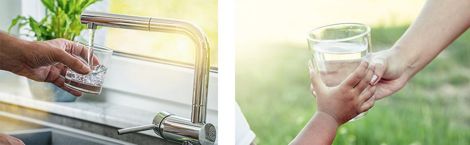 AEG AEGRO Equipo de Ósmosis Inversa para la Filtración de Agua Potable para Instalación Debajo del Fregadero, Blanco, Única: Amazon.es: Bricolaje y herramientas