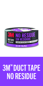 3M Duct Tape No Residue
