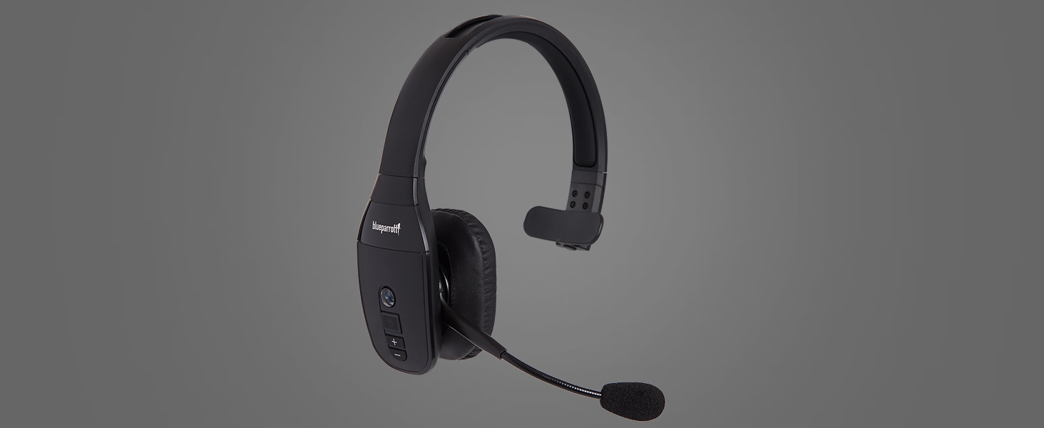 30f5dc5d1e6 The BlueParrott B450-XT Bluetooth headset for truck drivers and mobile  professionals.
