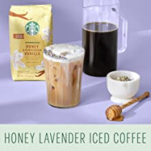 Honey Lavender Iced Coffee