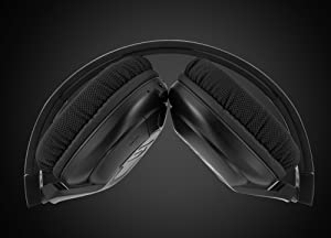 SOUL Electronics X-TRA Performance Bluetooth 4.0 Wireless Over-Ear Headphones for Sports