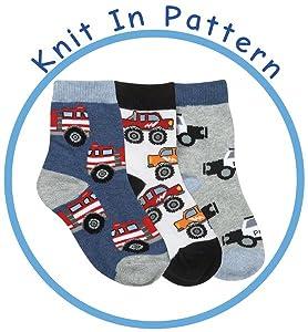 Jefferies socks, boys, toddler, fun, pattern, fashion, crew, socks